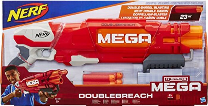 Nerf N-Strike Elite Double Breach Blaster Toy
