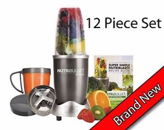 Nutribullet 600 Series 12 Piece! 12% off for Black Friday