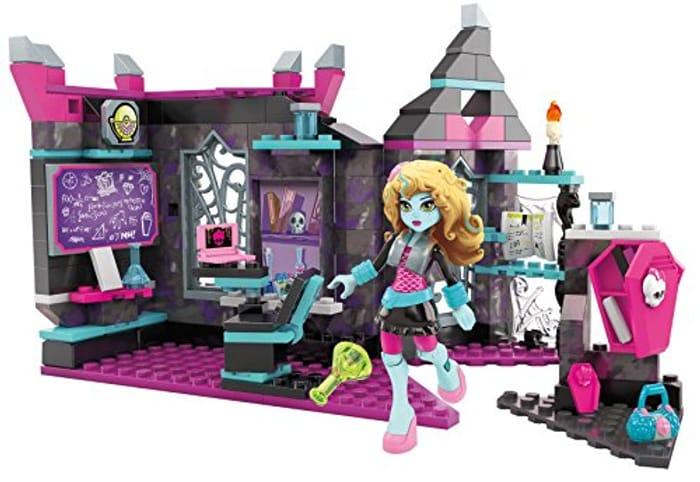 Mega Bloks Toy - Monster High Biteology Class 194 Piece Playset