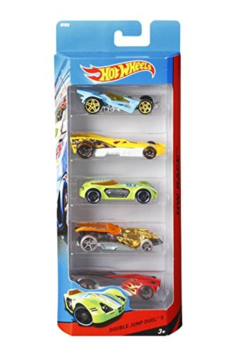 5 Hot Wheels Cars
