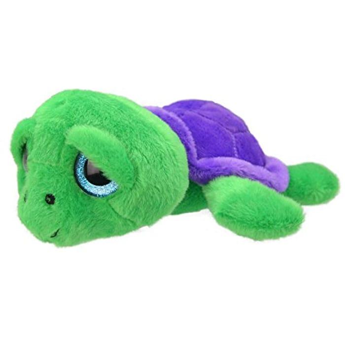 Wild Planet 40 Cm Floppys Turtle Plush Toy (Green)