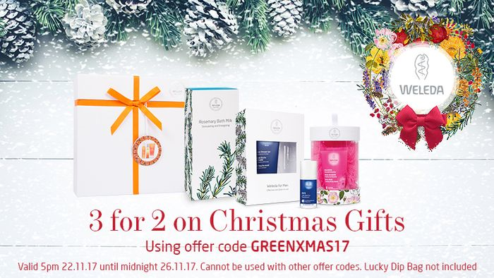 3 for 2 on Christmas Gifts