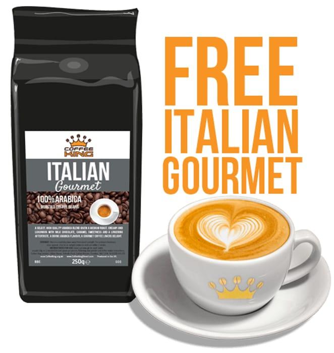 Free Gourmet King Coffee Pack