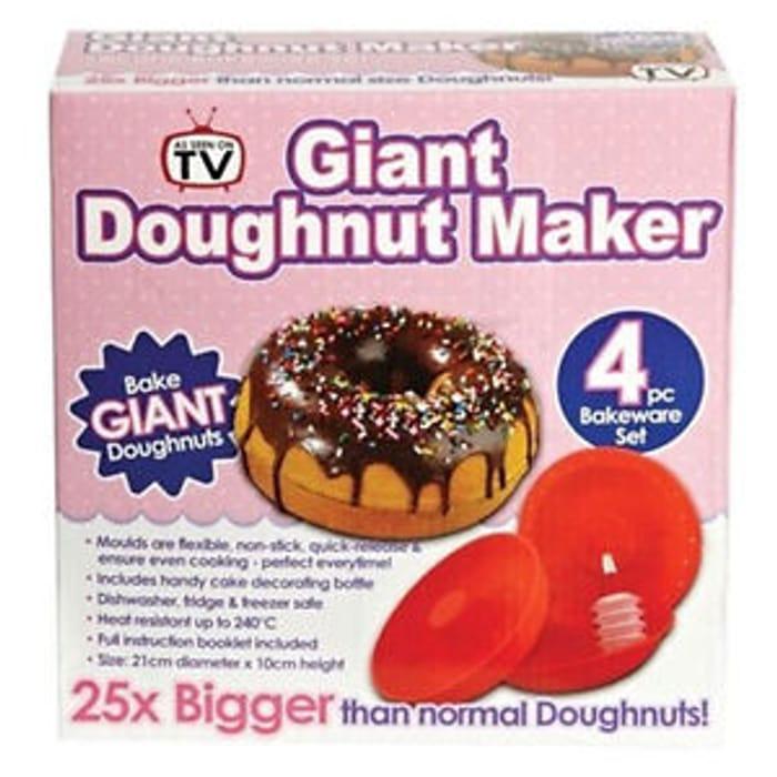 Giant Doughnut Maker Free Post