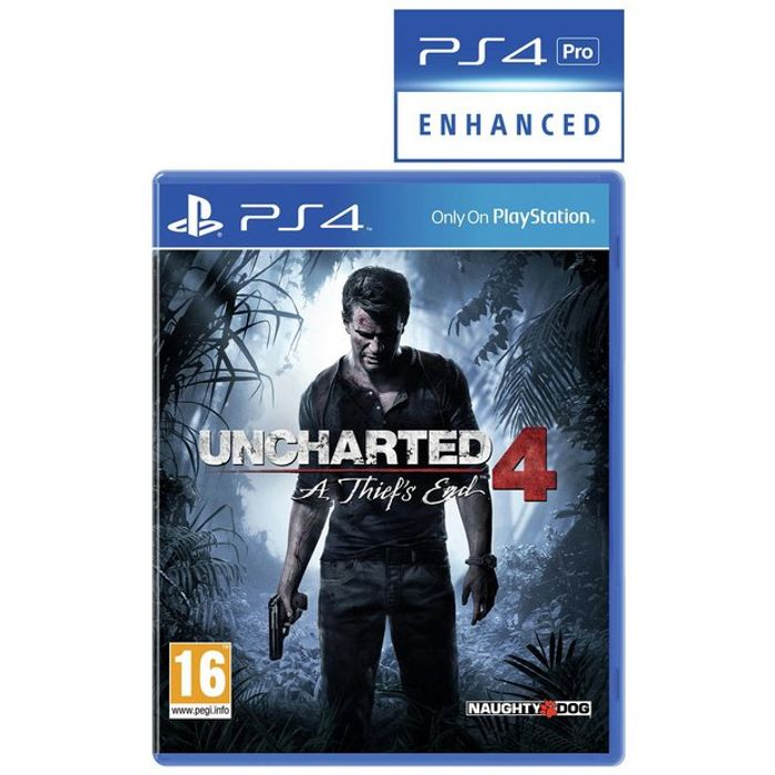 Uncharted Games Only £12.99 and Free Click and Collect