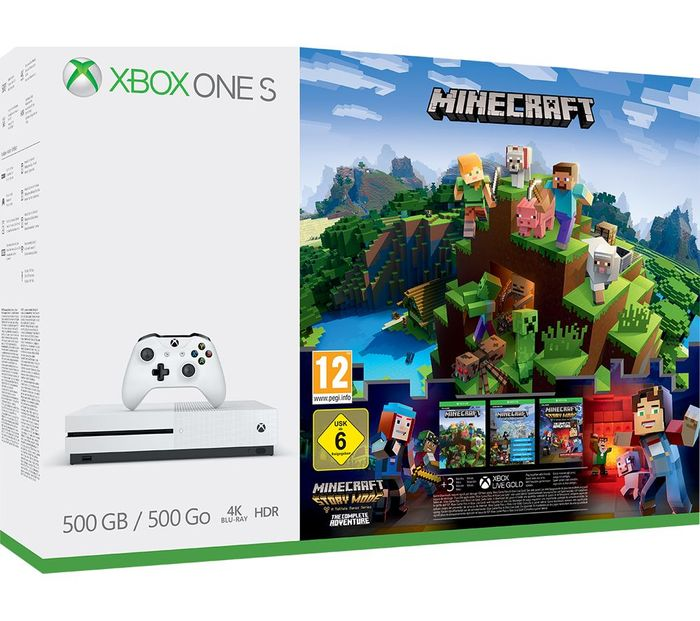 MICROSOFT Xbox One S with Minecraft £169.99 + FREE DELIVERY