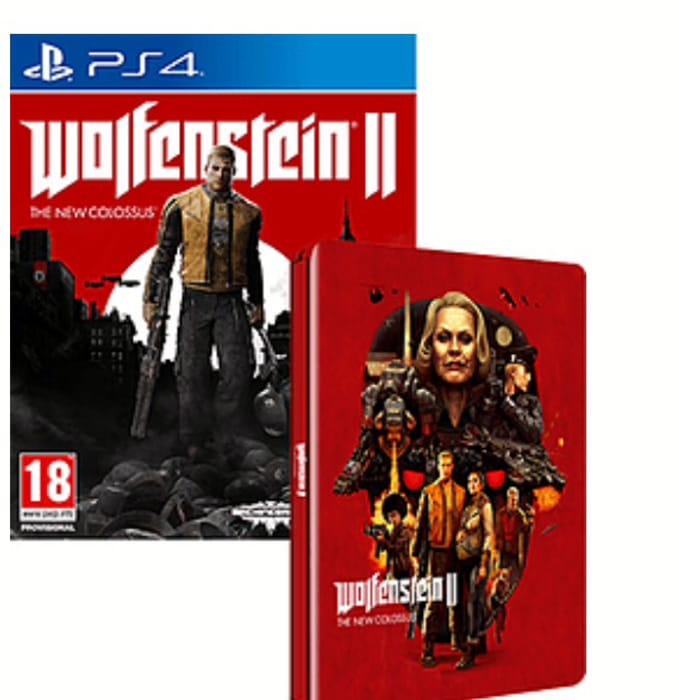 Wolfenstein 2: The New Colossus Steelbook Case (PS4) - Black Friday