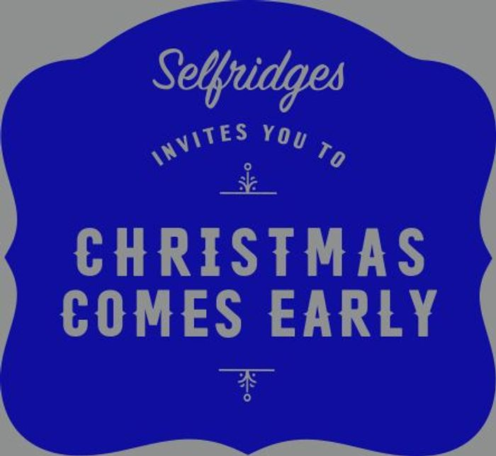 Up to 20% off Online Orders at Selfridges
