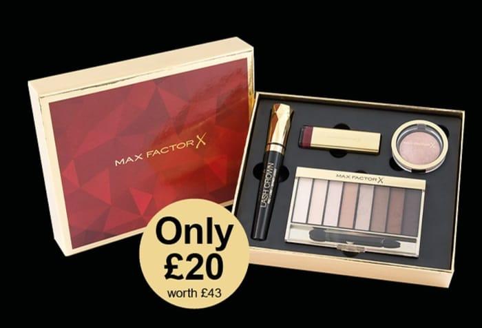 BOOTS MEGA DEAL - £82 of Max Factor Make up for £20!