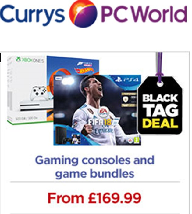 Currys BLACK FRIDAY GAMING CONSOLE DEALS