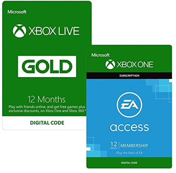 amazon xbox live gold 1 month code
