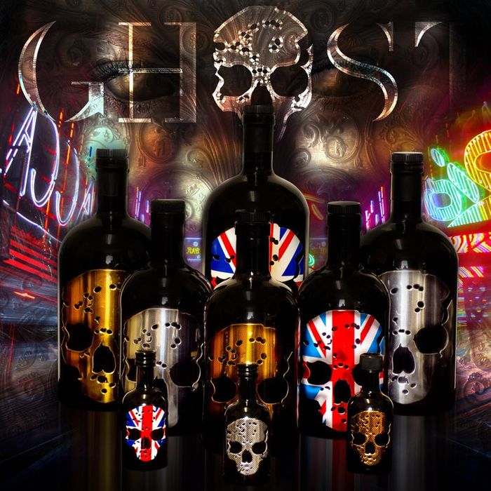 £5 off GhostVodka and Get a Free Ghost T-Shirt with Every Bottle!