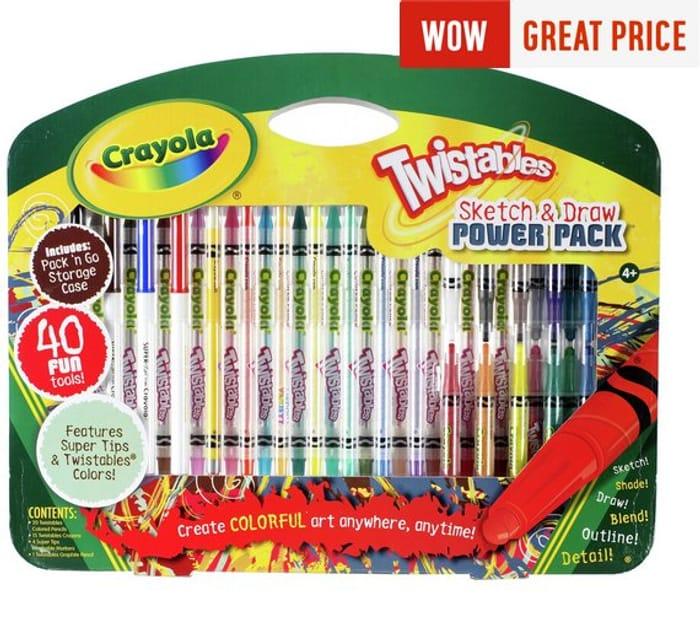 Crayola Twistables Sketch and Draw Set