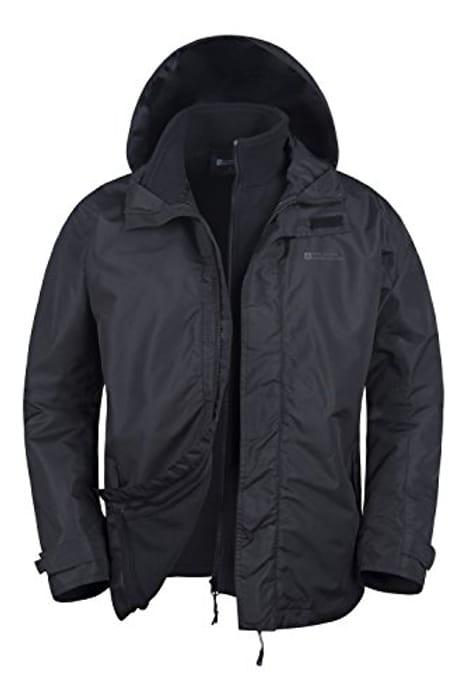 Mountain Warehouse Fell Men's 3 in 1 Water Resistant Jacket