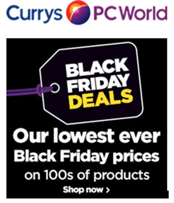 Currys Black Tag Event Black Friday Cyber Monday At Currys Pc World Latestdeals Co Uk