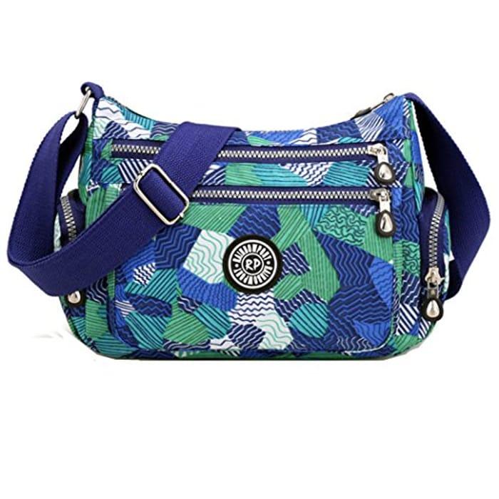 Women Messenger Bag Casual Waterproof Nylon Handbag Shoulder Bag Cross Body Bag