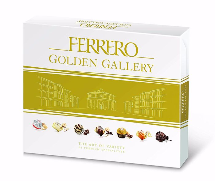 Ferrero Golden Gallery Chocolates, 42 Pieces