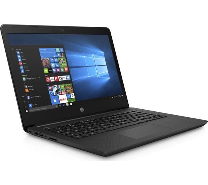 "HP 14"" Laptop - Jet Black Free Delivery"