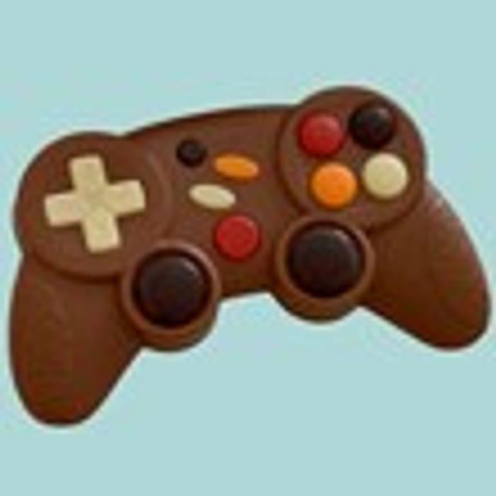 Milk Chocolate Games Controller - a High Scoring Treat
