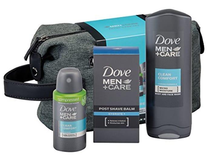 Dove Men + Care Total Care Wash Bag Gift Set