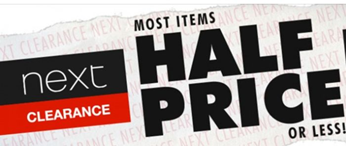 5ea12f8dd4967 NEXT CLEARANCE - Most Items HALF PRICE or LESS! | LatestDeals.co.uk
