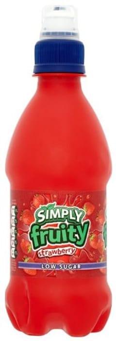 12 X Strawberry Simply Fruity Drinks £2.04