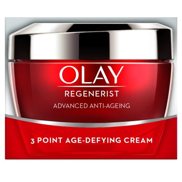 Olay Regenerist 3 Point Anti-Aging Day Cream 50Ml at Tesco