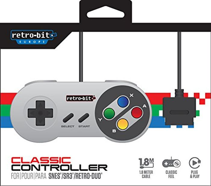 Nintendo Gaming Controllers by Retro-Bit (SNES/GameCube)「From £7.49 to £10.99」