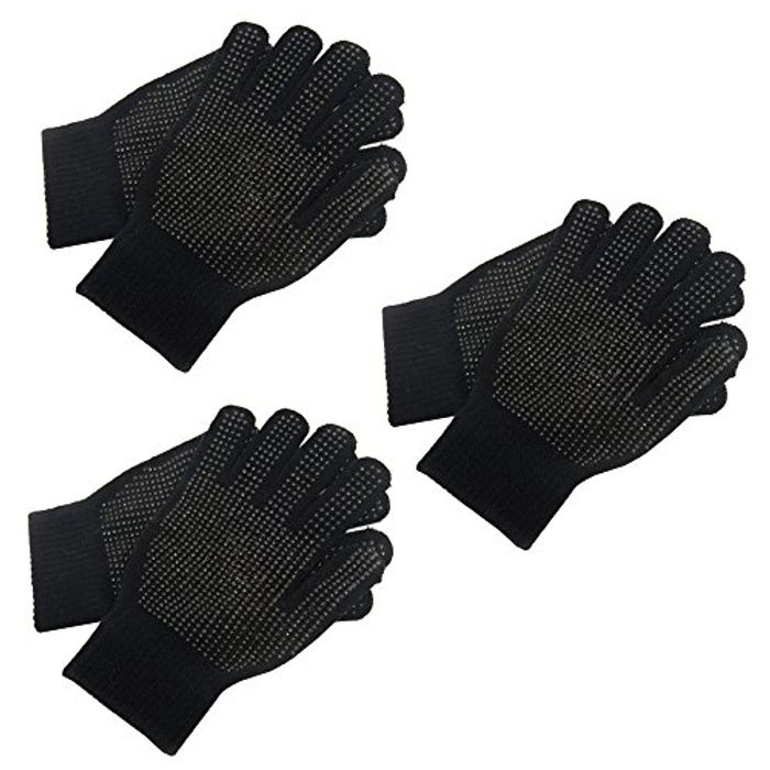 3 Pairs Adults Magic Stretch Driving Gloves Free Delivery