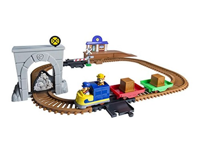 Paw Patrol Adventure Bay Railway Track Playset