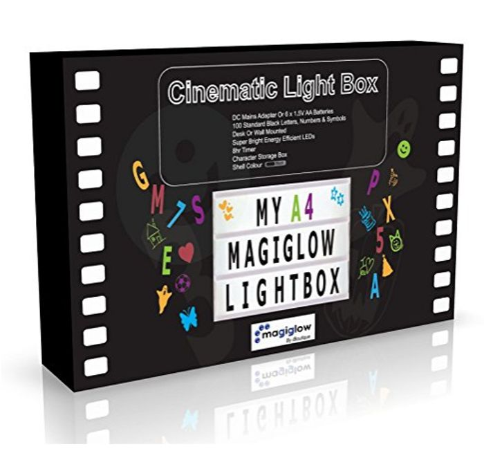 MagiGlow A4 Enhanced Cinematic Light up Your Life Letter Box