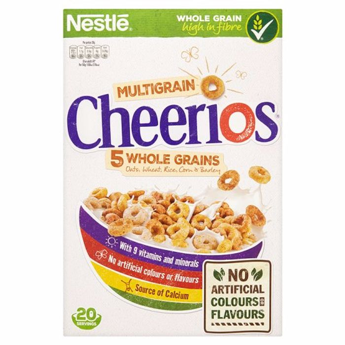 Nestle Cheerios Multigrain Cereal 600G