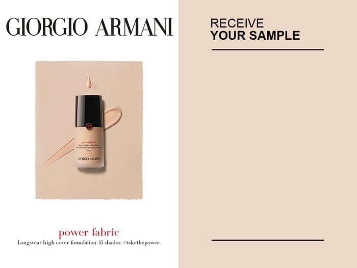 Claim Your Free Armani Makeup Sample!!