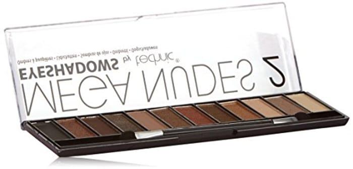 Technic Mega Nudes 2 Eyeshadows Compact - 12-Piece