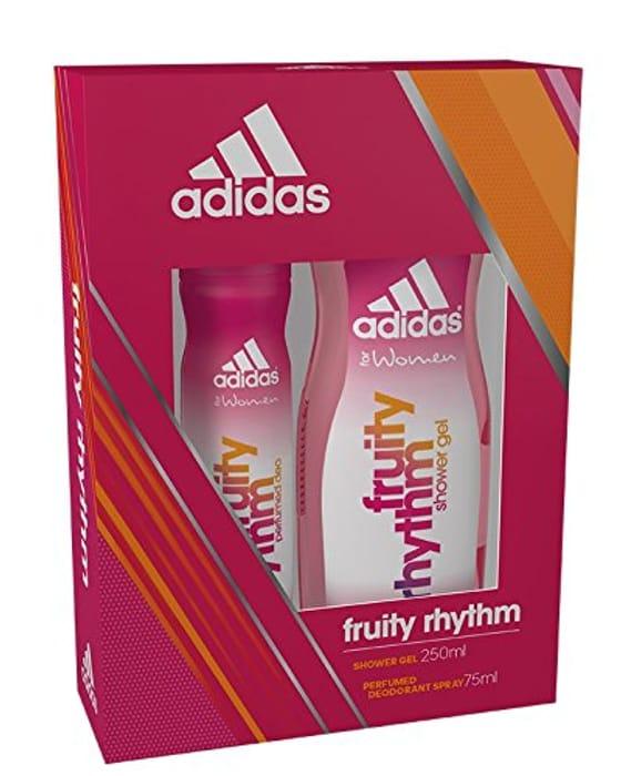 ff753aab1eb83 Adidas Fruity Rhythm Body Spray and Shower Gel Duo Gift Set, £3.43 ...