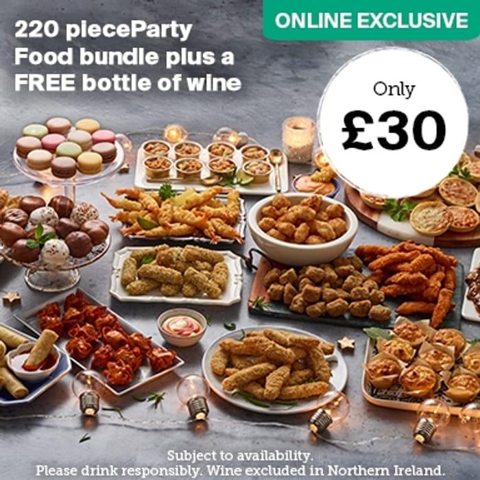 Iceland Party Bundle Plus Free Bottle Of Wine Online