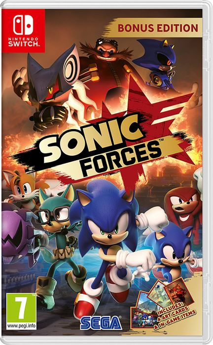 Sonic Forces: Bonus Edition (Nintendo Switch)