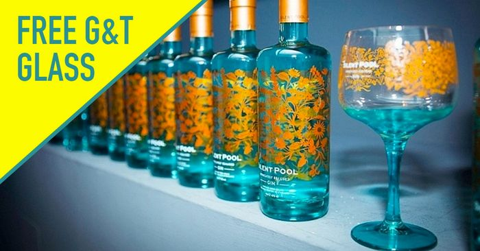 With Every Purchase of Silent Pool Gin with a FREE Balloon G&T Glass