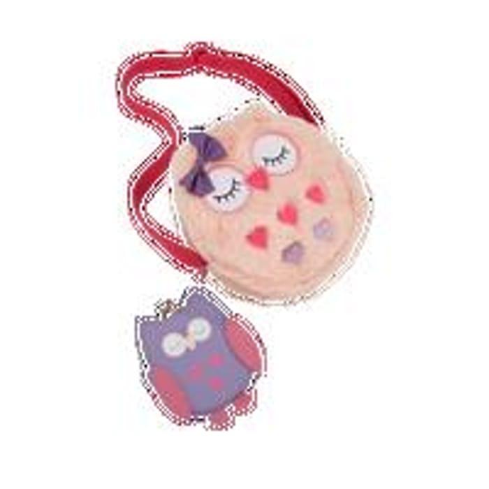 CUTE OWL - Faux Fur Owl Handbag & Owl Purse