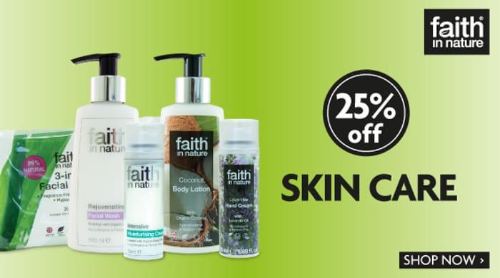 Bodykind - 25% off Faith in Nature Skincare