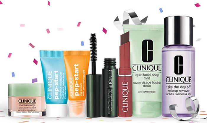 Today Only 5 FREE Samples with Any Order at Clinique