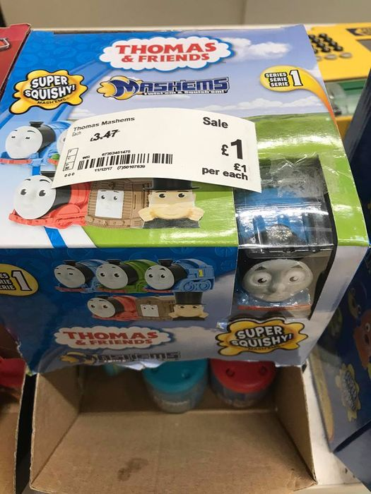 Thomas the Tank Engine Mashems - Lots to Clear in Asda -