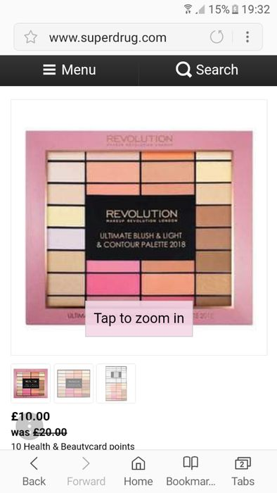 Revolution Blush and Light Pallete