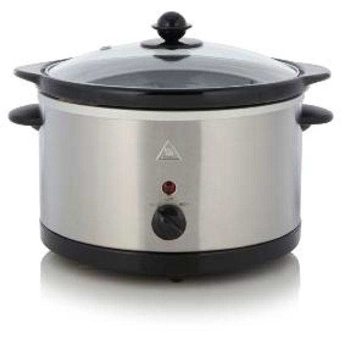 George Home Stainless Steel Slow Cooker