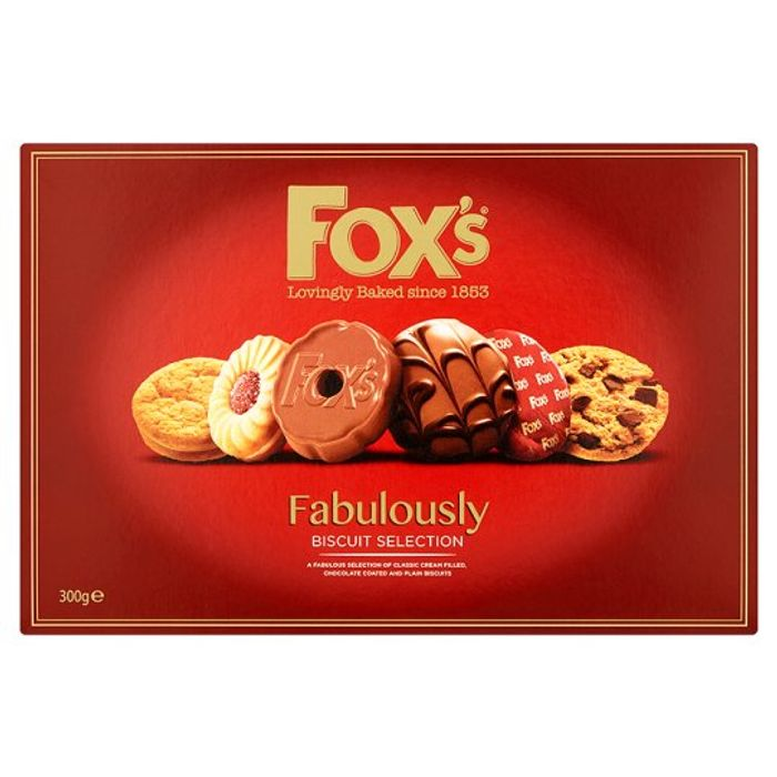 Foxs Fabulously Assortment Biscuits 300g 2 At Tesco