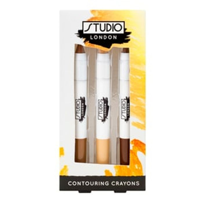 Superdrug Studio London Contouring Crayons Set of 3