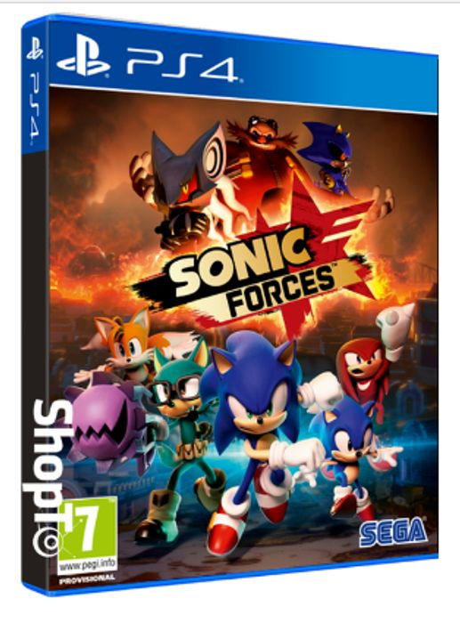 Sonic Forces PS4. Save £10 + Free Delivery