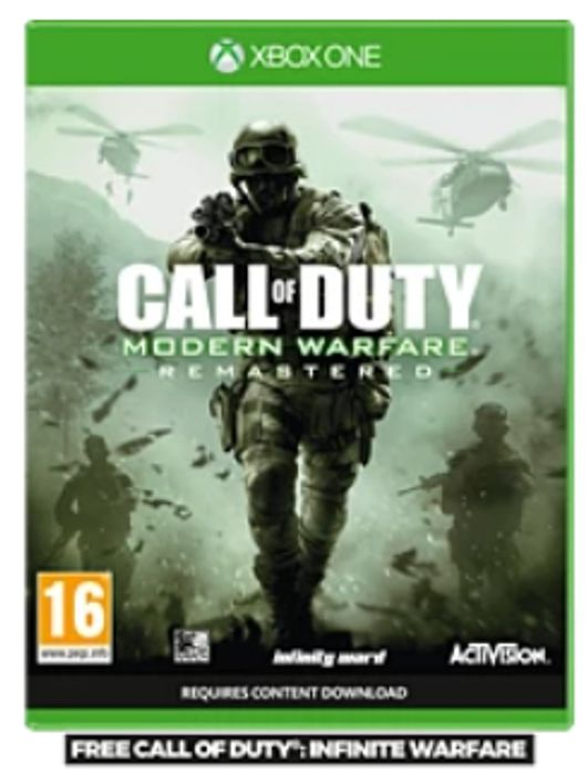 Call of Duty: Infinite Warfare - Legacy Edition XBOX ONE (2-GAMES-IN-1 PACKAGE)