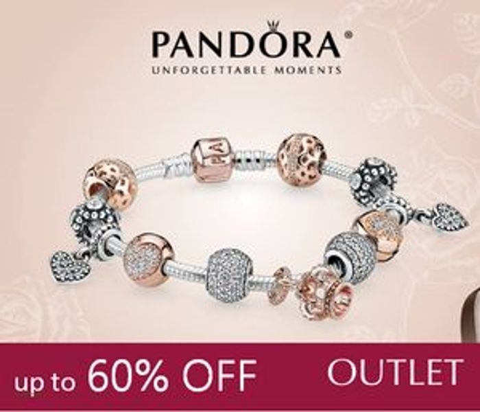 Up to 60% off at PANDORA OUTLET, £40 | LatestDeals.co.uk
