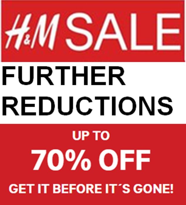H&M SALE - Jeans, Biker Jackets, Cardigans, Jumpers..! FURTHER REDUCTIONS